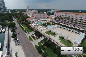 tourism hotels resort marina beach destination weddings aerial videography photography marriott vinoy