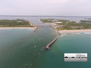 SkiBerg, LLC Sebastian Inlet aerial photography boats fishing surfing beach aerial videography photography