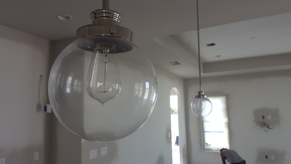Designer selected Progress Lighting Fixtures